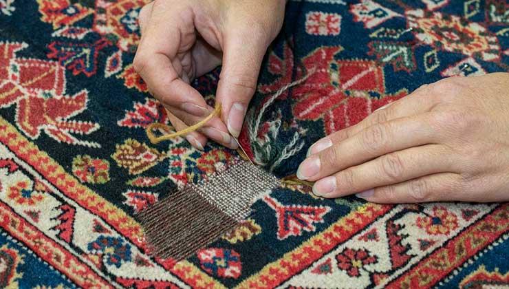 قالیشویی خوشنام-ترمیم فرش