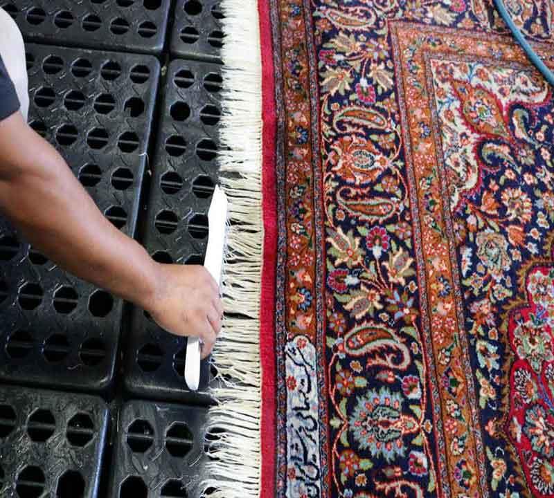 قالیشویی در شاه عباسی